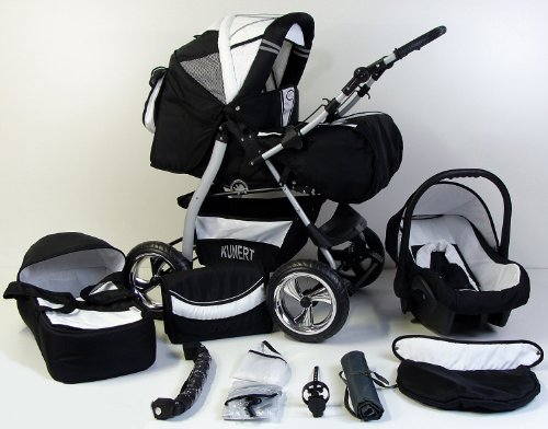 3 in 1 kombikinderwagen komplettset vip inkl. Black Bedroom Furniture Sets. Home Design Ideas