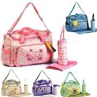 3-tlg-Baby-Farbwahl-Wickeltasche-Pflegetasche-Windeltasche-Babytasche-Reise-Farbauswahl-0