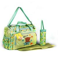 3-tlg-Baby-Farbwahl-Wickeltasche-Pflegetasche-Windeltasche-Babytasche-Reise-Farbauswahl-0-3