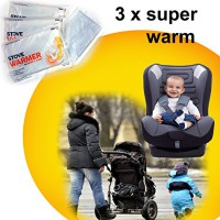 3-x-Kinderwagen-Wrmepad-Wrmekissen-Taschenwrmer-Handwrmer-Krperwrme-Wellnesswrme-0
