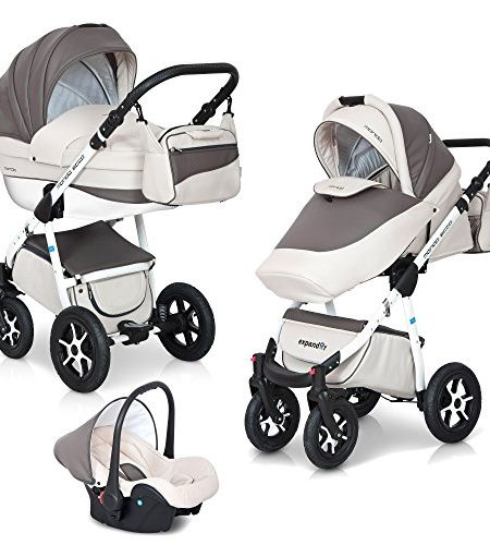 3in1-Kombi-Kinderwagen-Set-Mondo-Ecco-Leder-Version-Alu-Tech-0