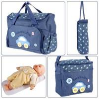 4tlg-Wickeltasche-Babytasche-Pflegetasche-Reisetasche-Baby-Dunkelblau-0-1
