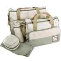 5tlg-Babytasche-Set-Pflegetasche-Tragetasche-Wickeltasche-Windeltasche-Kinder-Baby-0