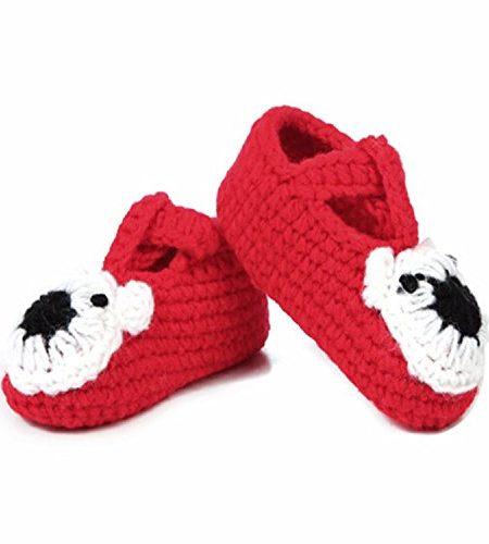 Babe-Mall-Inc-Ser-Br-Baby-Neugeborenes-Kleinkind-Mdchen-Junge-Handgestrickt-Hkel-Pre-Walker-Kind-Schnalle-Schuhe-Socken-Stiefel-Himmelblau-0
