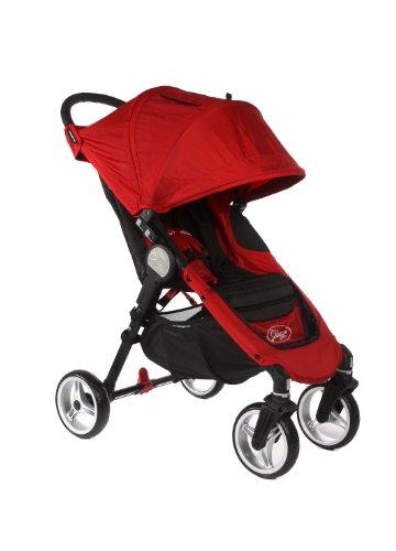 Baby-Jogger-City-Mini-4-CrimsonBlack-Red-0