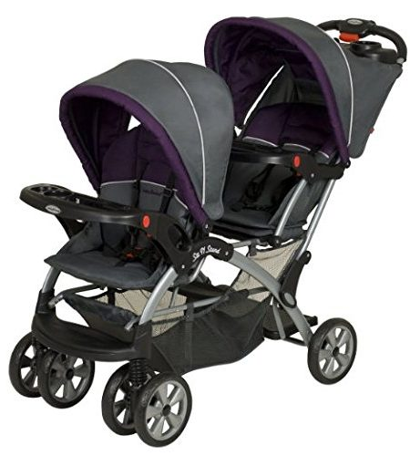 Baby-Trend-Sit-N-Stand-Tandem-Doppel-Kinderwagen-0