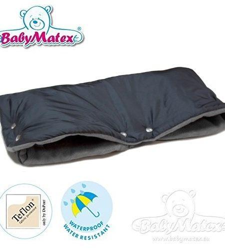 BabyMatex-TRIPPI-Soft-FEEL-SCHWARZ-ANTHRAZIT-Handwrmer-Handschuh-NIE-WIEDER-KALTE-HNDE-DER-Muff-fr-Kinderwagen-Schlitten-Buggy-Radanhnger-Jogger-etc-0