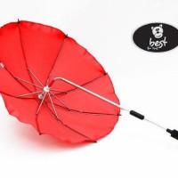 Best-For-Kids-Universal-Kinderwagenschirm-NEUSTE-TECHNIK-Hchster-UV-Schutz-Standard-801-Sonnenschirm-und-Regenschirm-fr-Kinderwagen-biegsam-und-einklappbar-13-Farben-zur-Auswahl-0-0