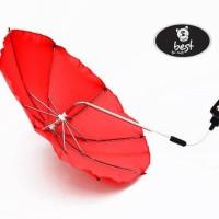 Best-For-Kids-Universal-Kinderwagenschirm-NEUSTE-TECHNIK-Hchster-UV-Schutz-Standard-801-Sonnenschirm-und-Regenschirm-fr-Kinderwagen-biegsam-und-einklappbar-13-Farben-zur-Auswahl-0-1