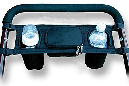 BreaDeep-Kinderwagen-BagRcksitz-Organizer-fr-Baby-mit-2-Becherhalter-auf-der-Vorderseite-und-1-Reiverschlusstasche-in-der-Mitte-fr-Schlssel-und-Handys-0