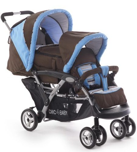 CHIC-4-BABY-Geschwisterwagen-Duo-inkl-Babytragetasche-und-Regenhaube-Kollektion-2014-0
