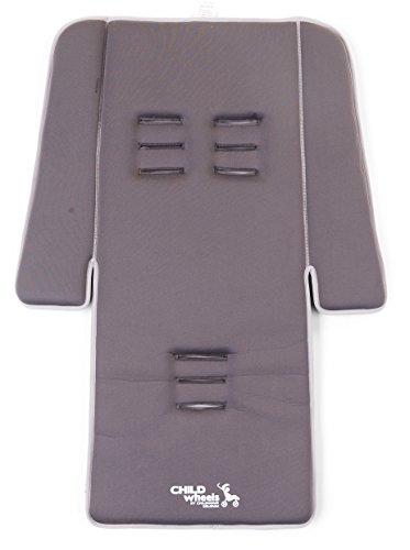 Childwheels-CWNBSDG-Neoprene-Sitzauflage-Buggy-Plus-Pads-dark-grey-0
