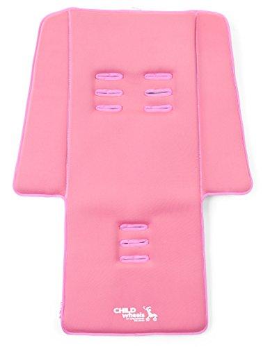 Childwheels-CWNBSOP-Neoprene-Sitzauflage-Buggy-Plus-Pads-old-pink-0