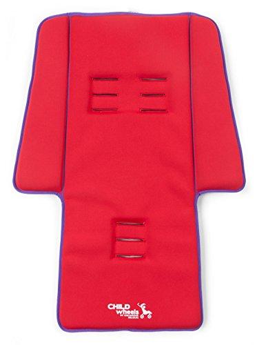 Childwheels-CWNBSR-Neoprene-Sitzauflage-Buggy-Plus-Pads-red-0