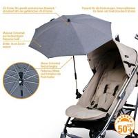 DIAGO-Deluxe-Sonnenschirm-Kinderwagen-grau-0-0