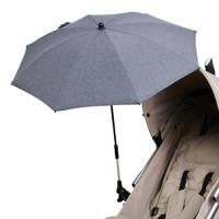 DIAGO-Deluxe-Sonnenschirm-Kinderwagen-grau-0