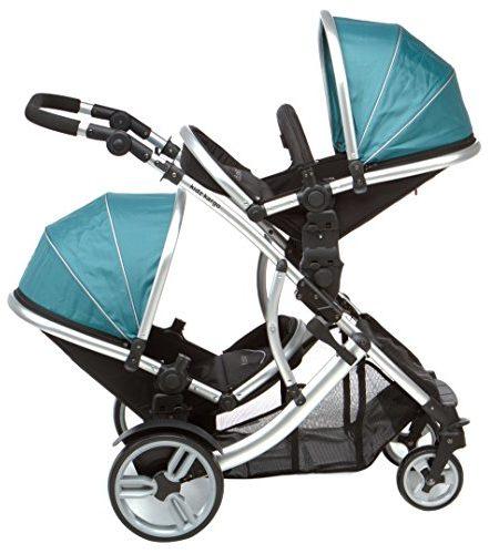 DUELLETTE-21-BS-Zweibettzimmer-Doppelbettzimmer-Kinderwagen-Tandem-Kinderwagen-buggy-2-sitz-einheiten-kompatibel-mit-Kidz-Kargo-safety-Schale-Autositz-oder-maxi-cosi-klemmen-oder-Britax-Baby-sicherhei-0-2