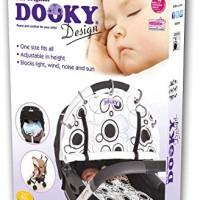 Dooky-SonnenschutzSchutzabdeckung-fr-Kinderwagen-Design-mit-schwarzen-Kreisen-0-1