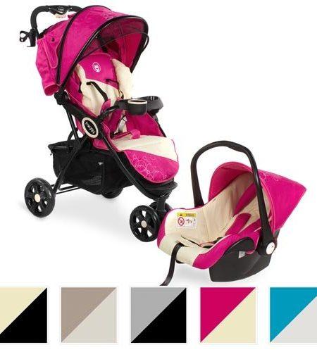 Froggy-2in1-Kombi-Kinderwagen-mit-Autositz-DINGO-SET-Buggy-Sportwagen-Babywagen-Liegebuggy-diverse-Farben-0