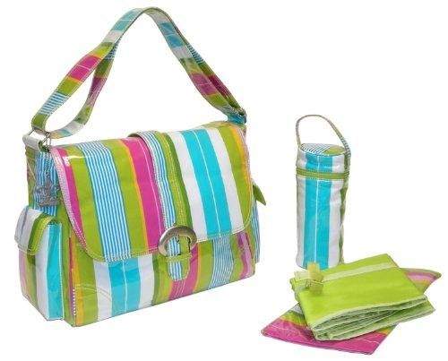 Kalencom-Fashion-Wickeltasche-Paradise-Stripes-Aqua-0
