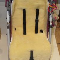 Kinderwagen-Einlage-Lammfell-medizinisch-100-Merino-Lammfell-Baby-Lammfell-Einlage-fr-Kinderwagen-Buggy-Babybett-Kinderbett-0