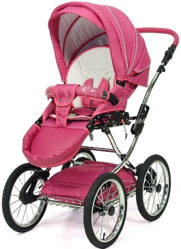 knorr baby classico kombikinderwagen mit zubeh r farbe pink. Black Bedroom Furniture Sets. Home Design Ideas