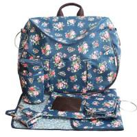 Minene-9676-Layla-Wickeltasche-blau-mit-Blumen-0-2