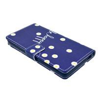 Nodelec-Folio-PU-Leder-Wallet-Case-Schutzhlle-fr-Sony-Z3-Zoll-Hlle-Handytasche-Skin-Schale-Soft-Backcover-Handy-Tasche-Flip-Cover-Buchstil-Klapptasche-in-Lederoptik-mit-Standfunktion-Karteneinschub-un-0-1