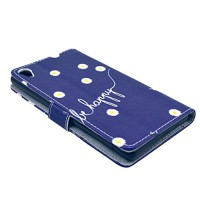 Nodelec-Folio-PU-Leder-Wallet-Case-Schutzhlle-fr-Sony-Z3-Zoll-Hlle-Handytasche-Skin-Schale-Soft-Backcover-Handy-Tasche-Flip-Cover-Buchstil-Klapptasche-in-Lederoptik-mit-Standfunktion-Karteneinschub-un-0-2