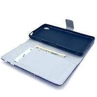 Nodelec-Folio-PU-Leder-Wallet-Case-Schutzhlle-fr-Sony-Z3-Zoll-Hlle-Handytasche-Skin-Schale-Soft-Backcover-Handy-Tasche-Flip-Cover-Buchstil-Klapptasche-in-Lederoptik-mit-Standfunktion-Karteneinschub-un-0-3