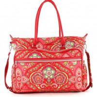 Oilily-Spring-Ovation-Wickeltasche-Baby-Bag-in-4-Farben-FarbeRaspberry-0