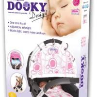 Original-Dooky-126601-Sonnenschutz-fr-Kinderwagen-und-Autositz-Designer-rose-Kreis-0