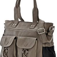 PHIL-SOPHIE-Cntmp-Damen-XL-Leder-Wickeltaschen-Diaper-Bags-Babytaschen-Buggy-Taschen-Leder-Taschen-Grau-Taupe-40x35x11cm-B-x-H-x-T-0-0