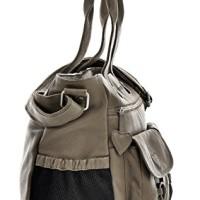 PHIL-SOPHIE-Cntmp-Damen-XL-Leder-Wickeltaschen-Diaper-Bags-Babytaschen-Buggy-Taschen-Leder-Taschen-Grau-Taupe-40x35x11cm-B-x-H-x-T-0-2