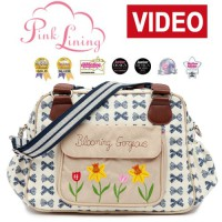 Pink-Lining-Blooming-Gorgeous-Navy-Bows-Wickeltasche-0-0