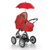Your-Baby-10461-Sonnenschirm-fr-Kinderwagen-rot-0-0