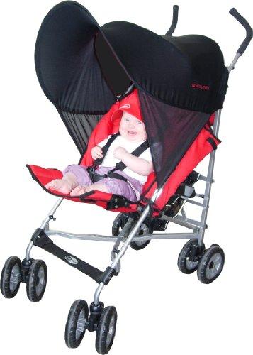 Zunblock-UV-Schutz-fr-Den-Kinderwagen-Schwarz-Onesize-8100501-0