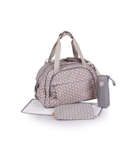 okiedog-Shuttle-Wickeltasche-inklusive-Wickelunterlage-Flaschenhalter-Zubehrbeutel-und-Taschenbefestigungssystem-fr-den-Kinderwagen-Polyester-0