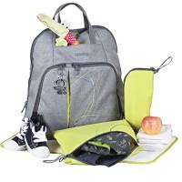 okiedog-Trek-Wickelrucksack-inklusive-Wickelunterlage-Flaschenhalter-Zubehrbeutel-und-Taschenbefestigungssystem-fr-den-Kinderwagen-Polyester-0