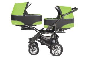 """BabyActive """"Twinni"""" Zwillingskinderwagen Test"""