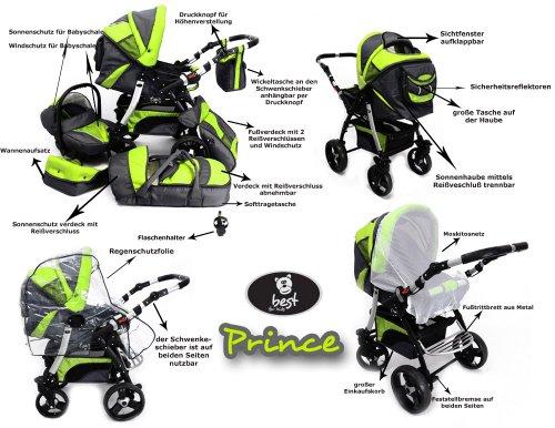 best for kids kinderwagen mit neuster technikentwicklung. Black Bedroom Furniture Sets. Home Design Ideas