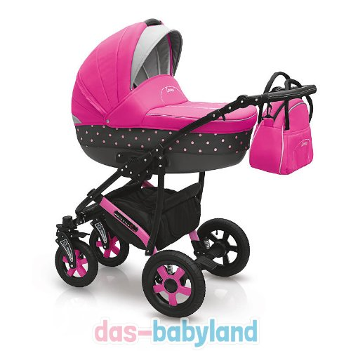 camarelo carera 3in1 kombikinderwagen kinderwagen buggy mit babyschale. Black Bedroom Furniture Sets. Home Design Ideas