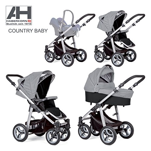 haberkorn country kinderwagen luftreifen maxi cosi adapter gel ndetauglich. Black Bedroom Furniture Sets. Home Design Ideas