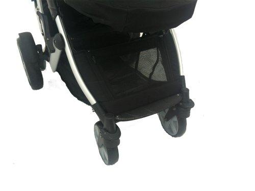kidz kargo zwillings kinderwagen 2 sitzschalen. Black Bedroom Furniture Sets. Home Design Ideas