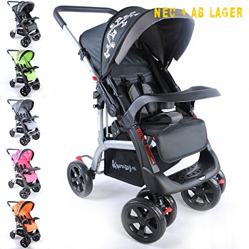 kinderwagen sportwagen delux jogger buggy sportbuggy. Black Bedroom Furniture Sets. Home Design Ideas