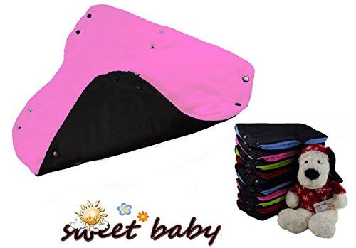 sweet baby multi soft handw rmer touch schwarz rose fuchsia kinderwagenmuff. Black Bedroom Furniture Sets. Home Design Ideas