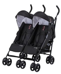 Zwillingsbuggy Test Knorr-baby Side by Side